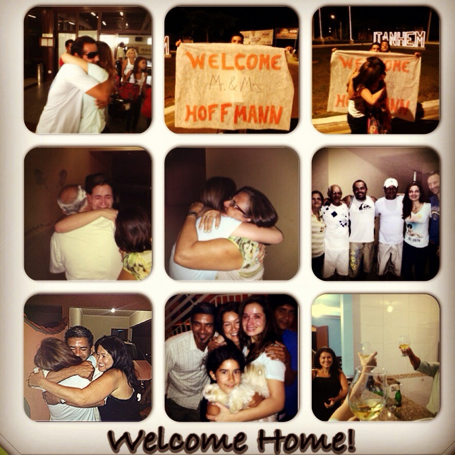 Emille first time coming home after not seeing most of family for 15 years