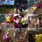 Collage of images from Itaheim, Brazil