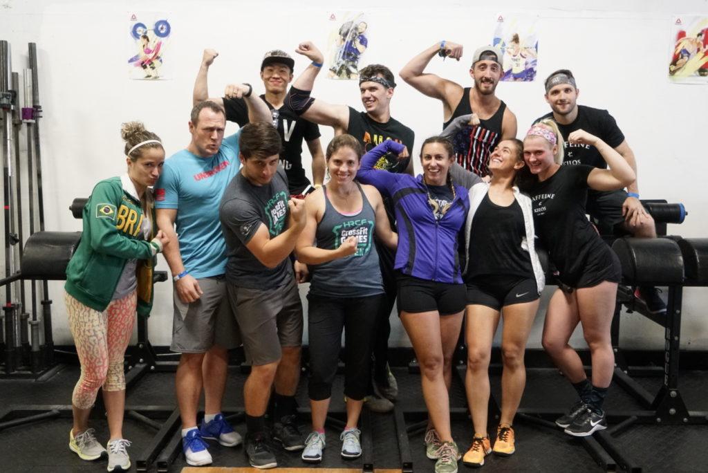 Hudson River CrossFit Teammates