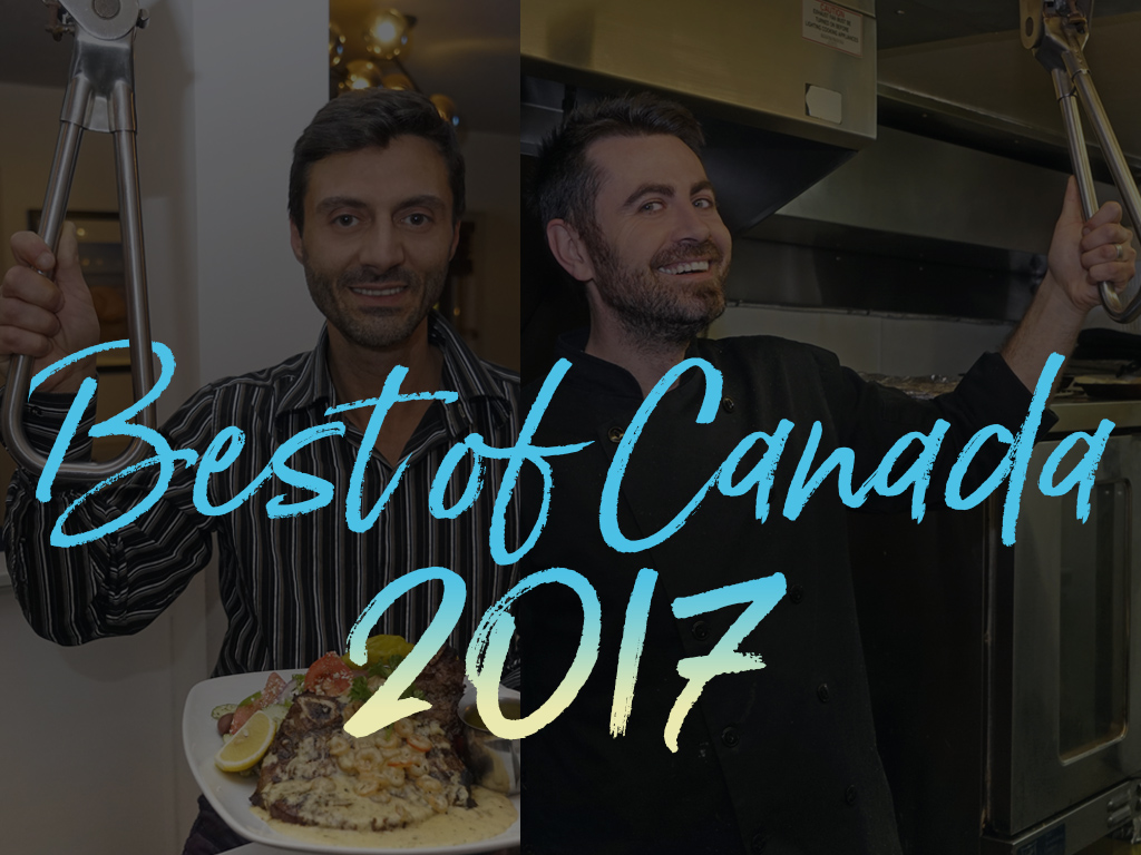 """We give the """"NY See You Later 2017 Best of Canada"""" award to My Greek Plate."""