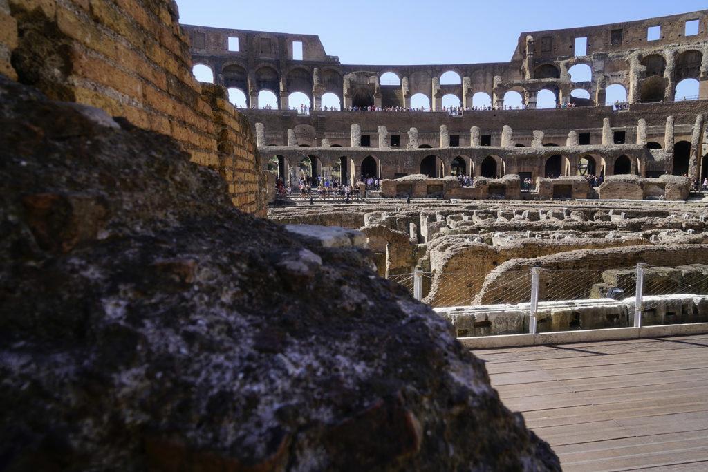 Colosseum (aka Flavian Amphitheatre) interior