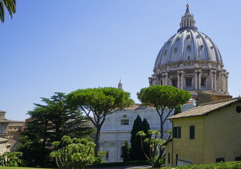The Vatican Gardens Tour