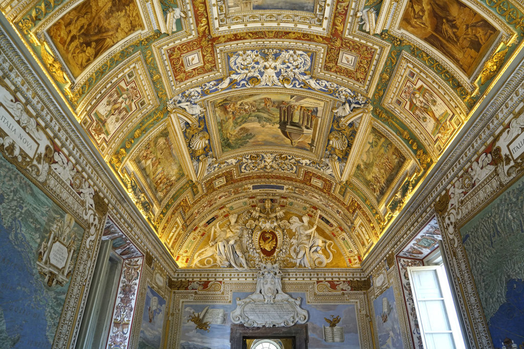 Vatican Museums ceiling