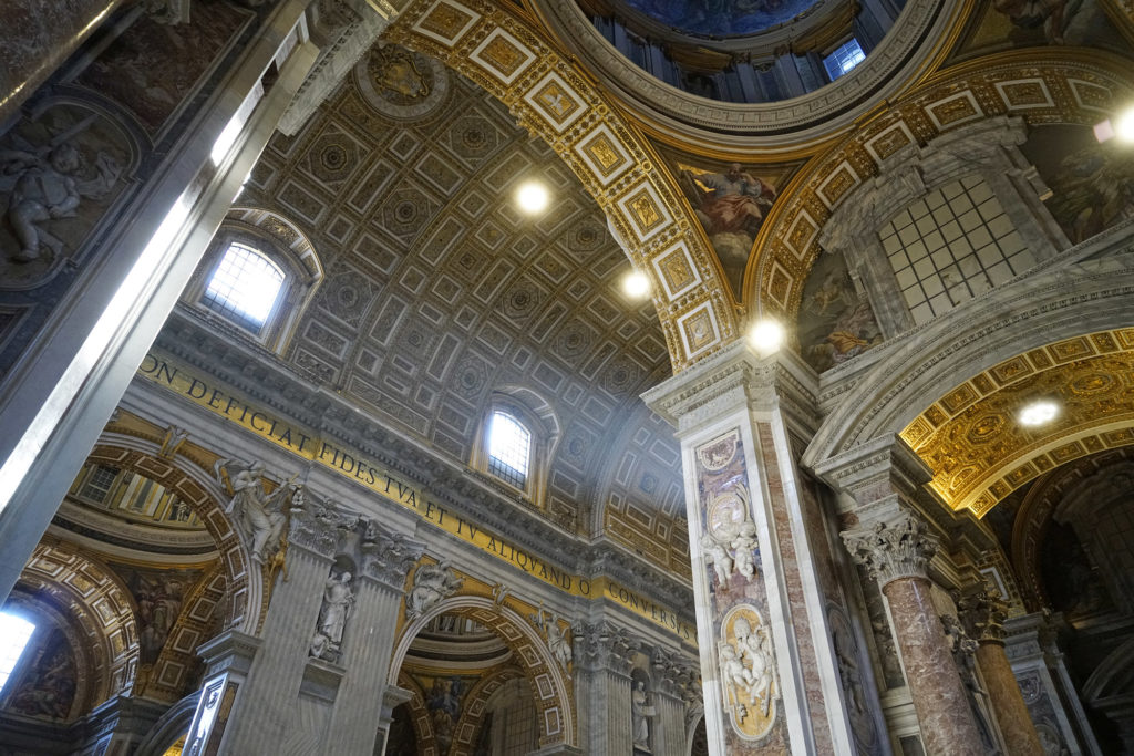 St. Peter's Basicilia in the Vatican