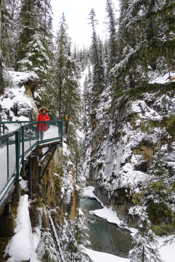 Johnston Canyon Trail