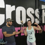 Ashkan and Emille with the Subway Handle at CrossFit Rittenhouse Philadelphia