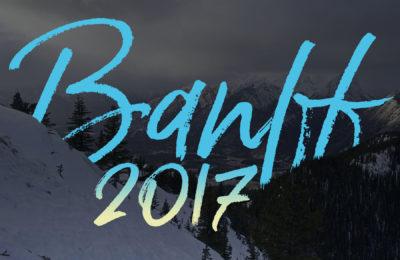 Banff, Alberta, Canada title graphic