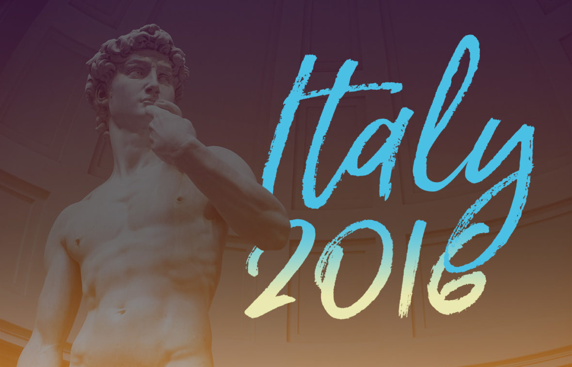 Italy 2016 image featuring Michelangelo's David by NY See You Later!