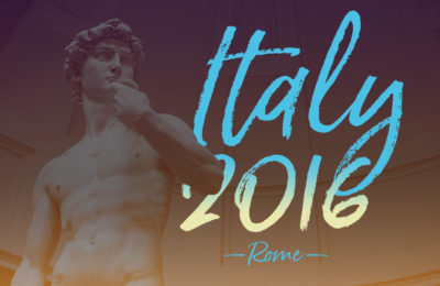 Rome, Italy 2016, NY See You Later