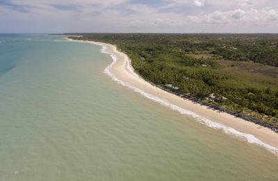 Drone Brazil Trancoso Beach excursion