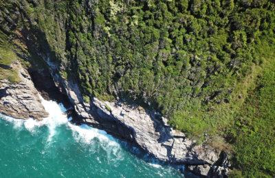 Drone photo of Buzios Beach, Rio de Janeiro, Brazil
