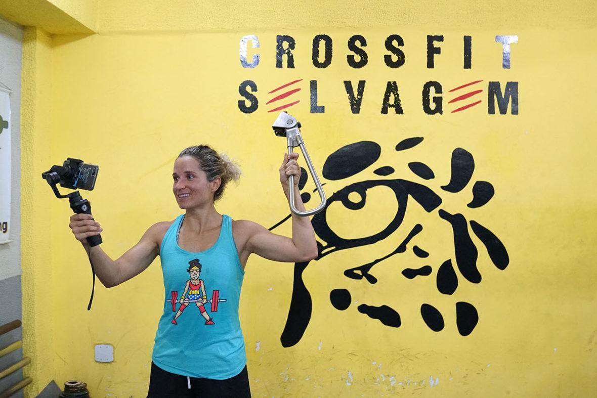 "CrossFit Selvagem (""Savage"") Subway Handle Photo"