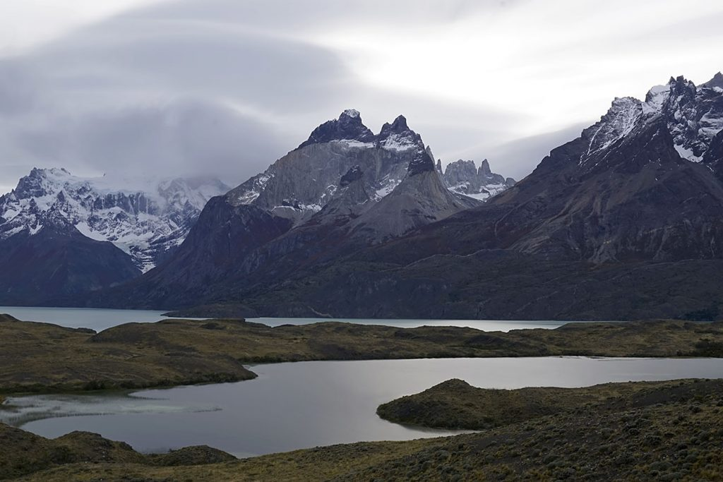The majestic Torres del Paine in Puerto Natales, Chile