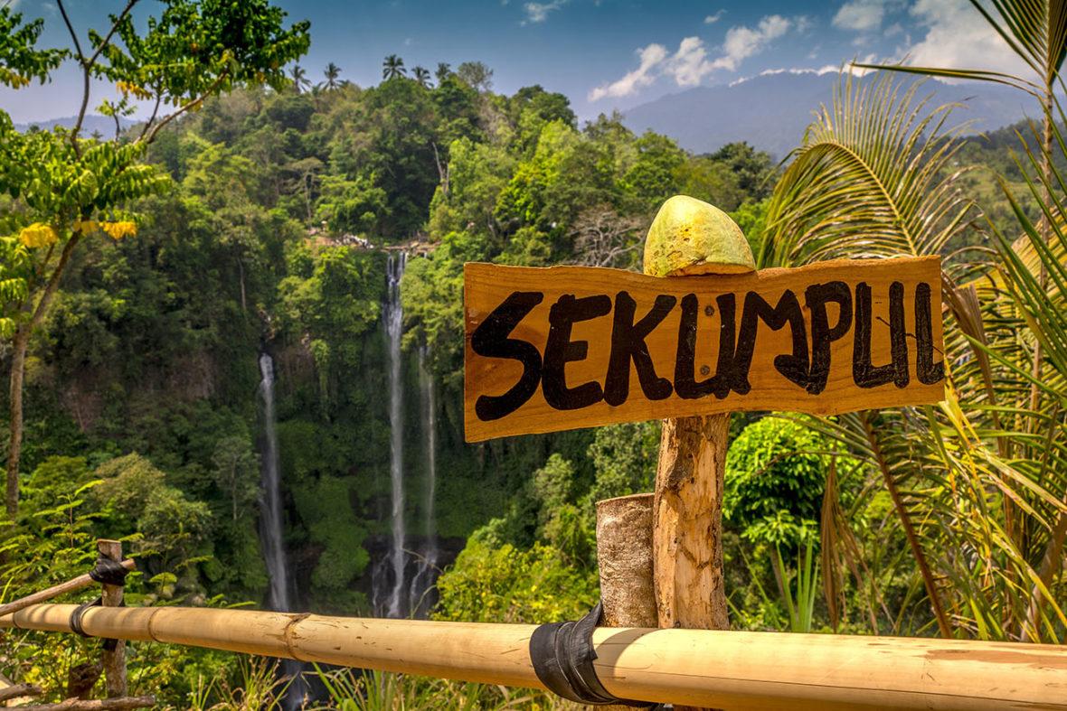 Sekumpul Waterfall, Bali, Indonesia