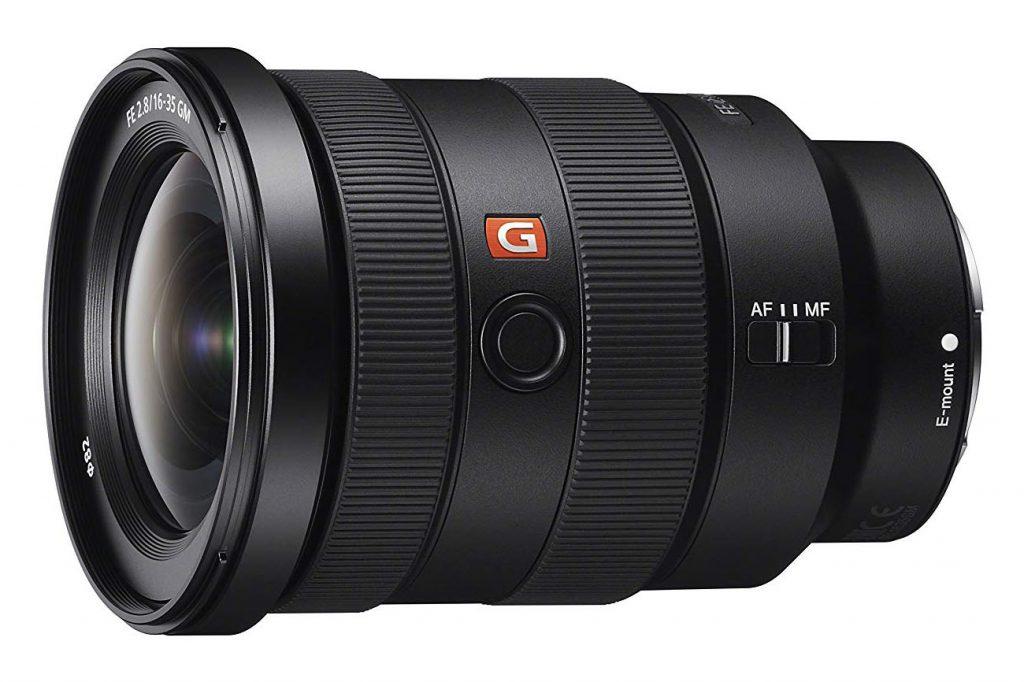 Sony G-Master 16-35 mm f/2.8 lens
