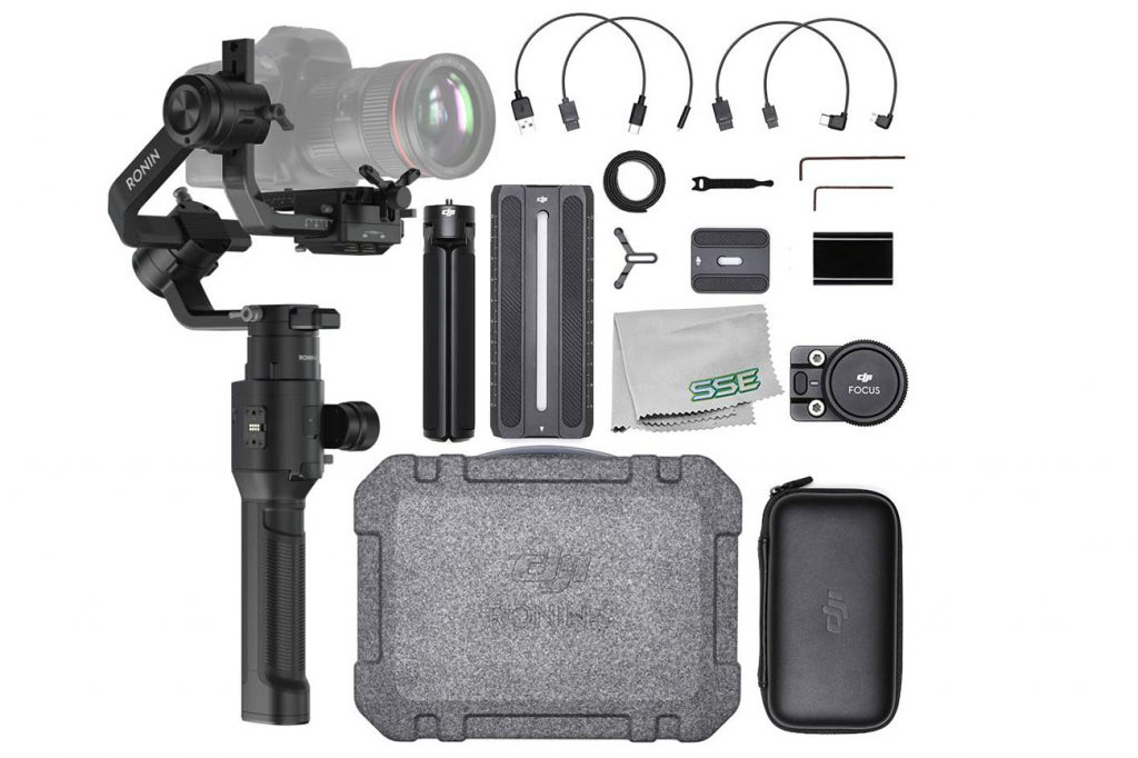 DJI Ronin-S Handheld 3-Axis Gimbal Stabilizer